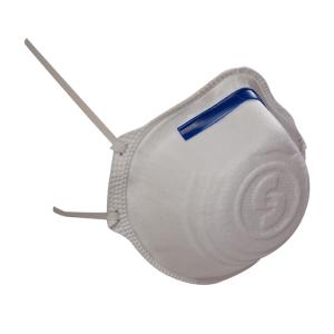 Ekastu Atemschutzmaske Mandil FFP2 nach EN 149:2001, FFP2 NR, wahlweise mit Ausatemventil, VPE 12 Stk. (Ausführung: ohne Cool-Down-Ausatemventil (Art.Nr.: as97181))