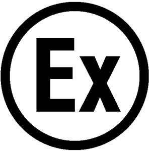 Elektrokennzeichnung / Betriebsmittelkennzeichnung, Ex - Explosionsgeschützt (Maße Ø/Variante: 16 mm / 40er-Bogen (Art.Nr.: 30.1622))