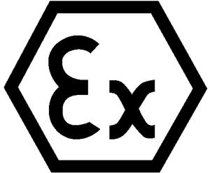 Elektrokennzeichnung / Betriebsmittelkennzeichnung, Explosionsgeschützte, baumustergepr. Betriebsm. (Maße Ø/Variante: 12,5 mm / 40er-Bogen (Art.Nr.: 30.1613))