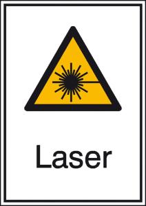 Elektrokennzeichnung / Kombischild mit Warnzeichen und Zusatztext, Laser (Maße (BxH)/Material: 131 x 185 mm / Alu, geprägt (Art.Nr.: 11.0430))