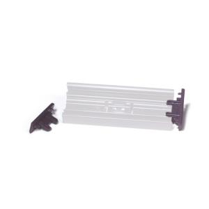 Endkappen -Kennflex- aus ABS (Höhe: für 38 mm (Art.Nr.: 90.3870))