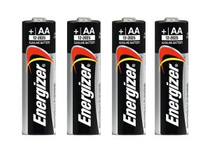 Energizer Alkaline Batterie, AA / Mignon, 1,5 V, VPE 4 Stk. (Ausführung: Energizer Alkaline Batterie, AA/Mignon, 1,5 V, VPE 4 Stk. (Art.Nr.: 37551))