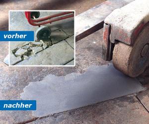 Epoxidharzmörtel Bodenreparatur -Concrex Rapid-, Aushärtung nach 3-6 h, für den Industriebereich (Inhalt: 10 kg (Art.Nr.: 15315))