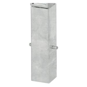 Ersatz-Bodenhülse, Stahl (verzinkt) für Absperrpfosten 70 x 70 mm (Ausführung: Ersatz-Bodenhülse, Stahl (verzinkt) für Absperrpfosten 70 x 70 mm (Art.Nr.: 14358))