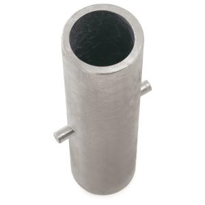 Ersatz-Bodenhülse, Stahl (verzinkt) Ø 76 mm, Länge 330 mm (Ausführung: Ersatz-Bodenhülse, Stahl (verzinkt) Ø 76 mm, Länge 330 mm (Art.Nr.: 14352))