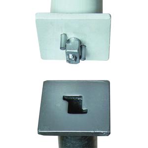Ersatz-Bodenhülse für Absperrpfosten Parat B, Ø 60, 76 und 70 x 70 mm (Ausführung: Ersatz-Bodenhülse für Absperrpfosten Parat B, Ø 60, 76 und 70 x 70 mm (Art.Nr.: 34661))
