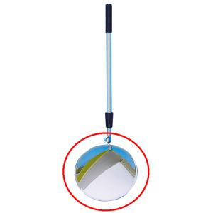 Ersatzspiegel für Inspektionsspiegel Vumax®, Ø 300 mm (Ausführung: Ersatzspiegel für Inspektionsspiegel Vumax®, Ø 300 mm (Art.Nr.: 103v))