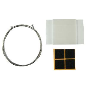 Ersatzteil-Set für Bodenständer mit Spannseil und Infotafel (Ausführung: Ersatzteil-Set für Bodenständer mit Spannseil und Infotafel (Art.Nr.: na9059))