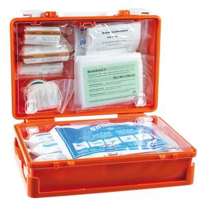 Erste-Hilfe-Koffer -Quick CD-, Inhalt nach DIN 13157, klein (Ausführung: Erste-Hilfe-Koffer -Quick CD-, Inhalt nach DIN 13157, klein (Art.Nr.: st2004))