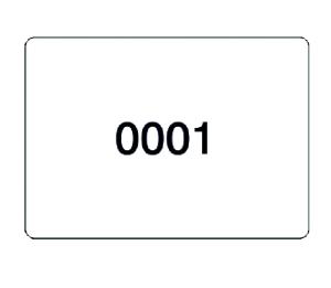 Etiketten, fortlaufend nummeriert, Ziffern 1 bis 1000, 1000 Stück auf Rollen (Ausführung: Etiketten, fortlaufend nummeriert, Ziffern 1 bis 1000, 1000 Stück auf Rollen (Art.Nr.: 32.3549))