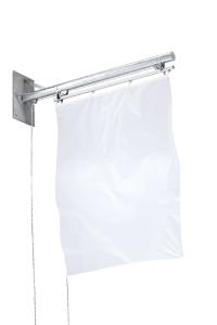 Fahnenhalter -Arts- aus Stahl, mit Hissvorrichtung (Ausführung: Fahnenhalter -Arts- aus Stahl, mit Hissvorrichtung (Art.Nr.: 36071))