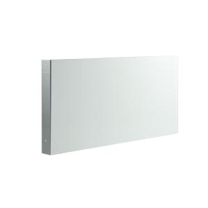 Fahnenschild Rechteck zur Wandmontage, für Folienschilder, neutral (Maße Folienschilder(BxH)/Montagemaß(BxHxT): 300 x 150 mm / 22 x 150 x 305 mm (Art.Nr.: 51.9560))