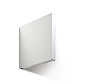 Fahnenschild zur Wandmontage, für Folienschilder, neutral (Maße (B x H): 150 x 150 mm (Art.Nr.: 90.2850))