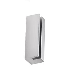 Fahnenschildhalter Befestigungselement -Clear-, Breite 120 oder 280 mm (Breite: 120 mm (Art.Nr.: cl5612))
