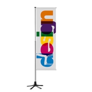 Fahnenständer -TEMPAFLAG-, mobil und höhenverstellbar (Ausführung: Fahnenständer -TEMPAFLAG-, mobil und höhenverstellbar (Art.Nr.: 35050))