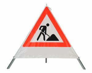 Faltsignal -Safety- tagesleuchtend (fluoreszierend)