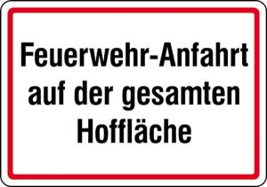 Feuerwehr-Anfahrt auf der gesamten Hoffläche (Ausführung: Feuerwehr-Anfahrt auf der gesamten Hoffläche (Art.Nr.: 11.2752))