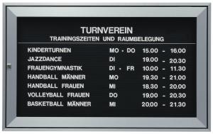 Flachschaukasten -Infomedia FM- 1500 x 1120 mm, Querformat