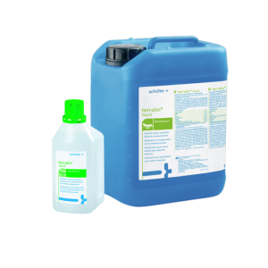 Flächendesinfektion -Schülke terralin liquid-, 1 Liter und 10 Liter, begrenzt viruzid (Gebindegröße: Flasche, 1 Liter (Art.Nr.: sc1058))