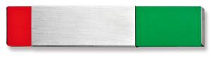 Frei- / Besetzt-Anzeige (Maße (HxBxT) / Befestigung: 70 x 30 x 6 mm / zum Verkleben (Art.Nr.: na9021))