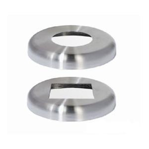 Fußabdeckung für Edelstahl-Sperrpfosten (Material/Maße: V2A/Ø 61 mm (Art.Nr.: 13673))