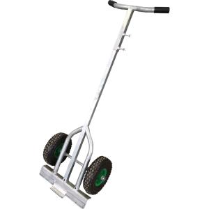 Fußplattentrolley aus Stahl, mit Luftbereifung (Ausführung: Fußplattentrolley aus Stahl, mit Luftbereifung (Art.Nr.: 51903))