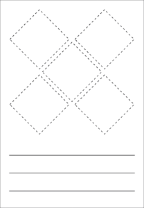 GHS-Symbole zur Selbstbeschriftung (Maße (BxH):  <b>70 x 100 mm</b><br>für GHS-Symbole 20 x 20 mm (Art.Nr.: 21.b1100))