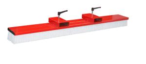 Gabelstapler-Kehrbesen -Typ SKB-O, ohne seitliche Verstellmöglichkeit (Modell/Breite/Gewicht:  <b>SKB-O 100</b> / 1000 mm / 30 kg (Art.Nr.: 38948))