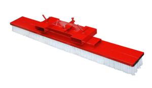 Gabelstapler-Kehrbesen -Typ SKB-, mit seitlicher Verstellmöglichkeit (Modell/Breite/Gewicht:  <b>SKB 100</b> / 1000 mm / 45 kg (Art.Nr.: 38945))