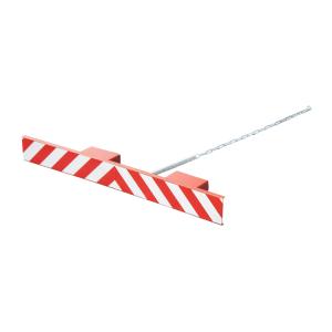 Gabelzinkenschild -Typ GZS-, gemäß StVZO, zur Abdeckung der Gabelzinken bei Leerfahrten (Ausführung: Gabelzinkenschild -Typ GZS-, gemäß StVZO, zur Abdeckung der Gabelzinken bei Leerfahrten (Art.Nr.: 38475))
