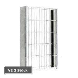 Gabionen-Pfosten -Saphir-, VE 2 Stück, aus Stahl (Befestigung/für Gitterhöhe/Pfostengesamtlänge/Verpackungseinheit: zum Aufdübeln/ <b>630mm</b>/645mm<br>VE 2 Stk. (Art.Nr.: 24567))