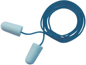 Gehörschutzstöpsel 3M E-A-R SOFT, metalldetektierbar mit Kordel, 36 dB SNR, VPE 200 Paar (Ausführung: Gehörschutzstöpsel 3M E-A-R SOFT, metalldetektierbar mit Kordel, 36 dB SNR, VPE 200 Paar (Art.Nr.: 32036))