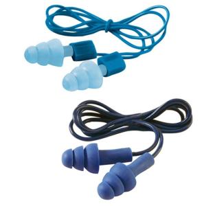 Gehörschutzstöpsel -3M E-A-R Tracers-, mit Kordel, 20 - 32 dB SNR, wiederverwendbar, VPE 50 Paar (SNR/Lärmpegelbereich/Menge:  <b>20 dB</b> / 83 - 93 dB / VPE 50 Paar (Art.Nr.: 32041))