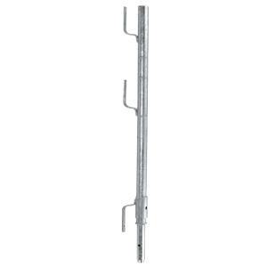 Geländerpfosten für Baustellentreppe mit Hülse (Ausführung: Geländerpfosten für Baustellentreppe mit Hülse (Art.Nr.: 24396))