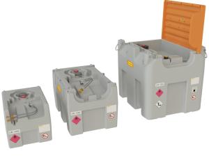 Generatortank -CEMO DT-Mobil Easy-, 200, 430 oder 980 Liter, mit Schnellkupplung (Volumen/Maße(LxBxH):  <b>200 Liter</b><br>800x600x590mm (Art.Nr.: 37006))