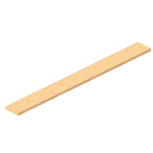 Gerüstdiele aus Holz, Länge 2500 mm, Breite 240 mm, Stärke 45 mm, nach DIN 4074 S10 (Ausführung: Gerüstdiele aus Holz, Länge 2500 mm, Breite 240 mm, Stärke 45 mm, nach DIN 4074 S10 (Art.Nr.: 103025))