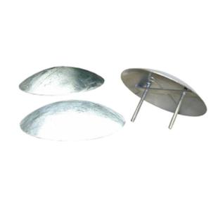 Geschwindigkeitshemmer -Street Bump- aus Stahl, Ø 315 mm, Höhe 60 mm (Ausführung: Geschwindigkeitshemmer -Street Bump- aus Stahl, Ø 315 mm, Höhe 60 mm (Art.Nr.: 18355))
