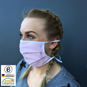 Gesichtsmaske aus Baumwolle und Polyester, für Erwachsene oder Kinder, farbig