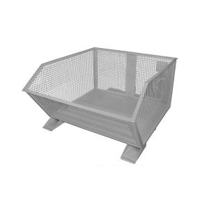 Gitterbehälter -Typ GU-G 1000-, für leichte Güter, niedrige Bauhöhe (Farbe : RAL 2000 gelborange (Art.Nr.: 38508))