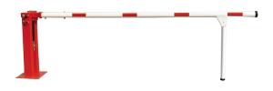Handschranke mit Gasdruckfeder und Pendelstütze, Breiten 3000 - 7000 mm