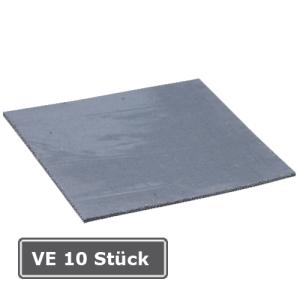 Heiß-Klebeplatten 150 x 150 mm, VE 10 Stück (Ausführung: Heiß-Klebeplatten 150 x 150 mm, VE 10 Stück (Art.Nr.: 18452))