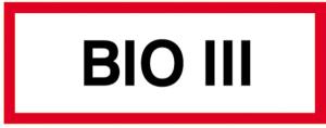 Hinweisschild, BIO III (Ausführung: Hinweisschild, BIO III (Art.Nr.: 11.2897))