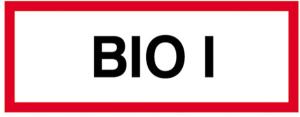 Hinweisschild, BIO I (Ausführung: Hinweisschild, BIO I (Art.Nr.: 11.2895))