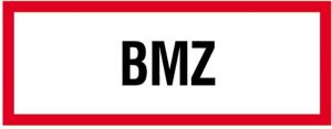 Hinweisschild, Brand-Melder-Zentrale BMZ (Maße(BxH)/Material: 297x105mm/<br>Folie,selbstklebend,langnachl. (Art.Nr.: 38.2500))