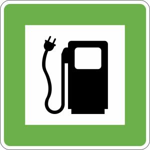 Hinweisschild, Elektrotankstelle (Ausführung: Hinweisschild, Elektrotankstelle (Art.Nr.: 51.5272))
