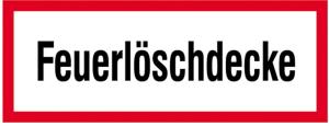 Hinweisschild, Feuerlöschdecke (Ausführung: Hinweisschild, Feuerlöschdecke (Art.Nr.: 21.2870))