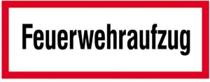 Hinweisschild, Feuerwehraufzug (Ausführung: Hinweisschild, Feuerwehraufzug (Art.Nr.: 21.2634))