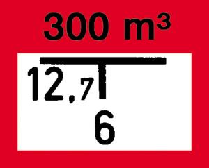 Hinweisschild auf eine Entnahmestelle eines Löschwasserbehälters, nach DIN 4066 (B2) (Ausführung: Hinweisschild auf eine Entnahmestelle eines Löschwasserbehälters, nach DIN 4066 (B2) (Art.Nr.: 11.2684))