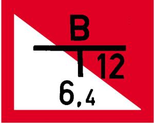 Hinweisschild auf einen Löschwasserbrunnen mit Tiefpumpe, nach DIN 4066 (C) (Ausführung: Hinweisschild auf einen Löschwasserbrunnen mit Tiefpumpe, nach DIN 4066 (C) (Art.Nr.: 11.2688))