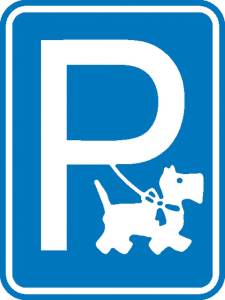 Hinweisschild für Gewerbe und Privat, Hundeparkplatz (Ausführung: Hinweisschild für Gewerbe und Privat, Hundeparkplatz (Art.Nr.: 11.5348))